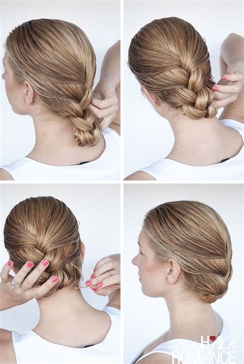 Simple Braid Hairstyles by Simple Braid Hairstyles Tutorial Www Imgkid The