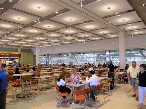 food court lighting design boston convention and exhibition center food court lam