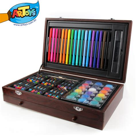 arts and craft sets for artoys 101 budding artist deluxe set studio