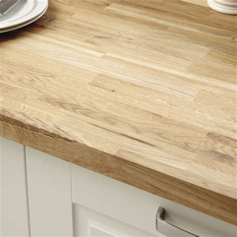 Wood Kitchen Cabinet by Rustic Oak Block Solid Wood Worktop Kitchen Worktops