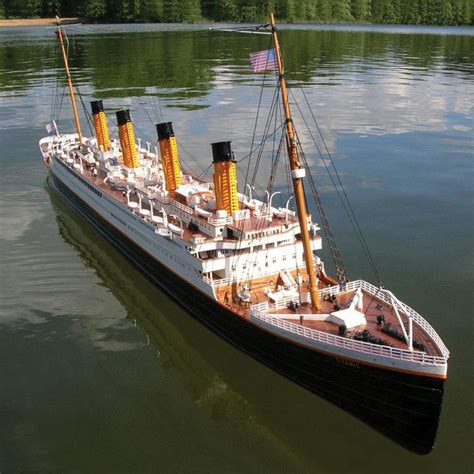 titanic toy boat authentic 6 foot remote controlled rms titanic the