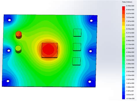 tutorial solidworks thermal analysis design engine education industrial product design