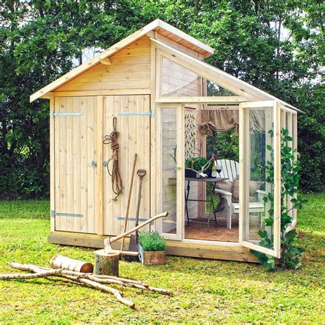 garden shed greenhouse plans fairytale backyards 30 magical garden sheds