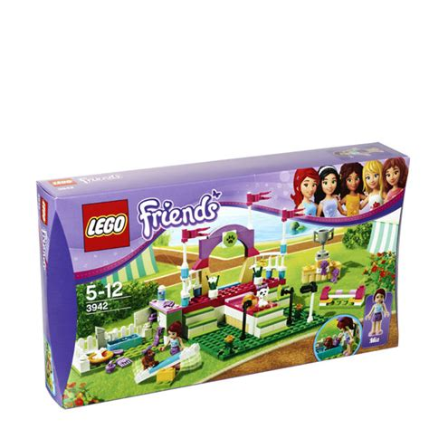lego friends puppy lego friends heartlake show 3942 toys thehut
