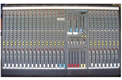 Allen Heath Mixer Live Pa28 allen heath gl2000 series the gl2000 series four