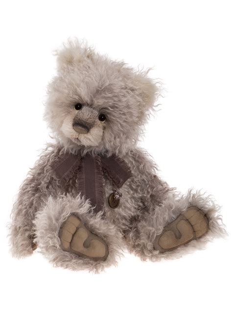 charlie bears isabelle collection clooney mohair bear