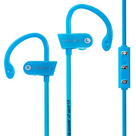 power sport bluetooth earphone with microphone ms b7 blue jakartanotebook