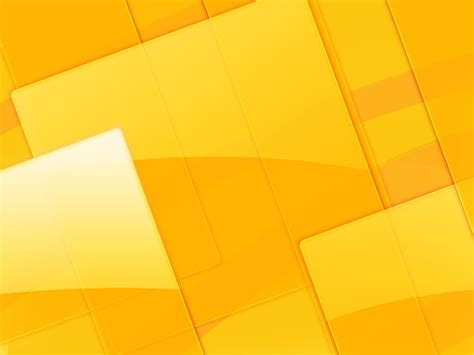 template powerpoint yellow yellow abstract cubes backgrounds presnetation ppt