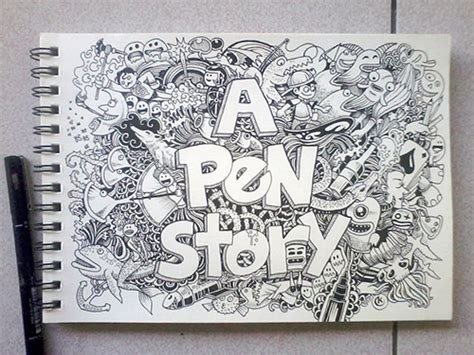 sketchy stories the sketchbook 1631061755 interview with kerby rosanes sketchy stories behind his doodles naldz graphics