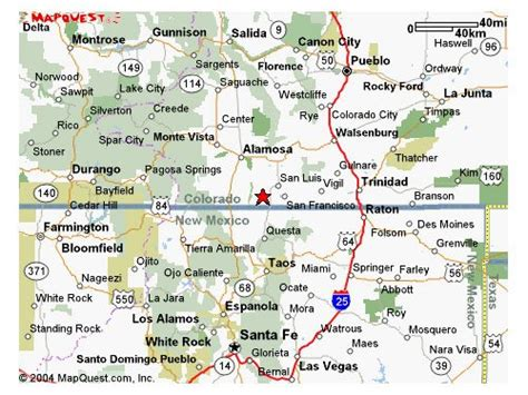 map of texas new mexico and colorado map of southern colorado and northern new mexico mexico map