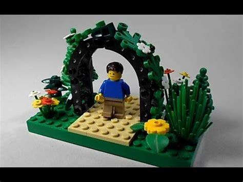 tutorial video lego lego tutorial how to build a garden arbor youtube