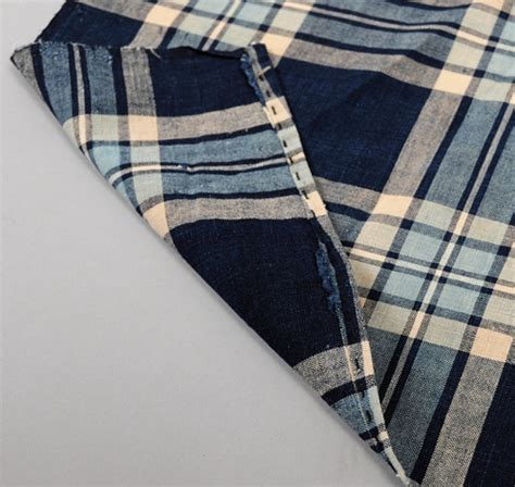 Plaid Futon Cover by Cotton Panel From Futon Cover Blue Plaid Hickoree S