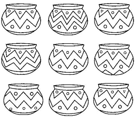chumash indian coloring page native american patterns printables california indian
