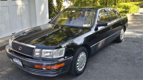 old lexus sedan no reserve lexus 1992 ls 400 ls400 classic car