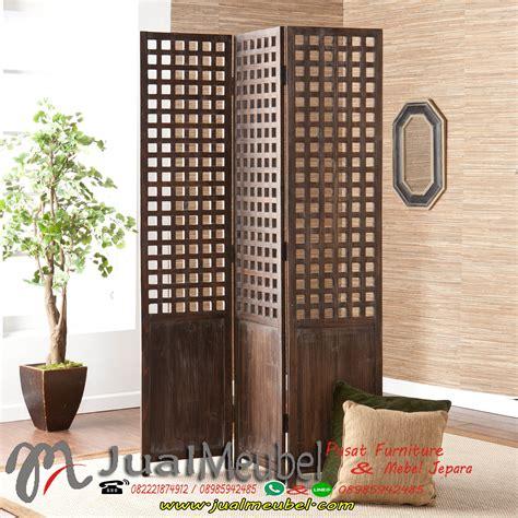 Partisi Ruangan Jati Mebel Jepara Partisi Minimalis Jati 150 Cm pintu gebyok jati home design idea