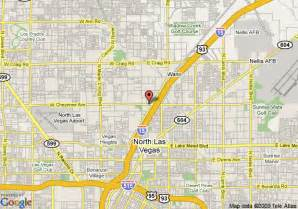 Map Of North Las Vegas by Map Of Comfort Inn North Las Vegas North Las Vegas