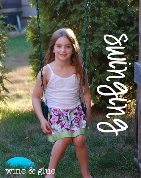 little girl up shorts lazy days skirt from oliver s wine glue