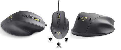 Mouse Naos Qg mionix naos qg un mouse gaming con sensor biom 233 trico