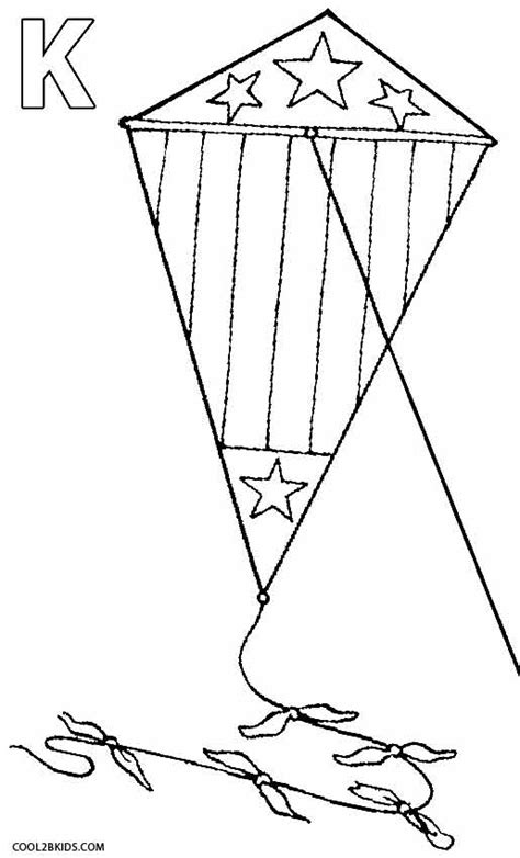 free printable coloring page of a kite printable kite coloring pages for kids cool2bkids