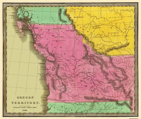 map of oregon 1840 25 best ideas about oregon territory on