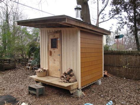 diy backyard sauna blog archives tomakeandtobe