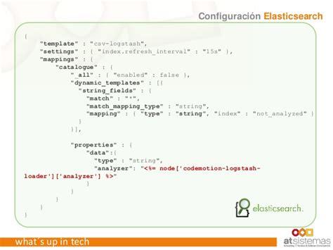 Webinar Dev Ops Mashup Microservicios Elk Cloud Y Entrega Continua Elasticsearch Template Mapping