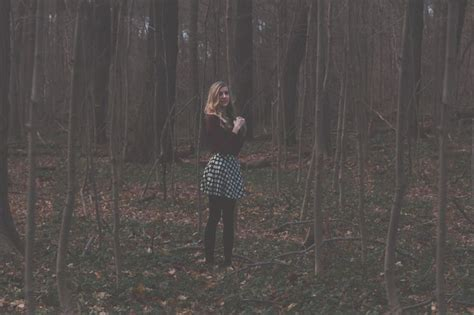 0008288607 the girl in the woods girl in the woods photography creepy shoot inspiration