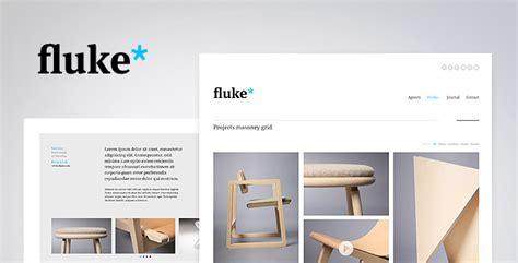 Fluke Responsive Creative Portfolio Template By Pezflash Themeforest Interior Design Portfolio Templates Free
