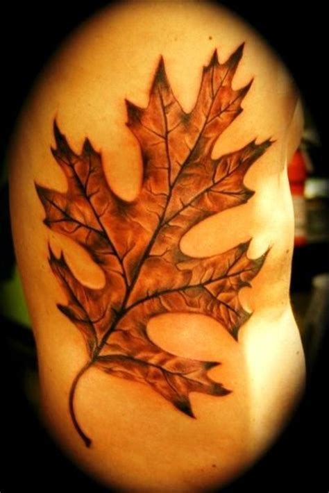 oak tree tattoo meaning best 25 oak leaf tattoos ideas on