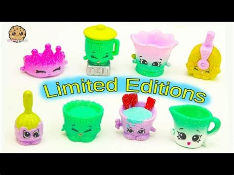 Shopkins Season 6 Chef Club Emco Littlest Pet Shop Hasbro all cutetensils season 6 chef club shopkins limited edition complete set of 8 cookieswirlc