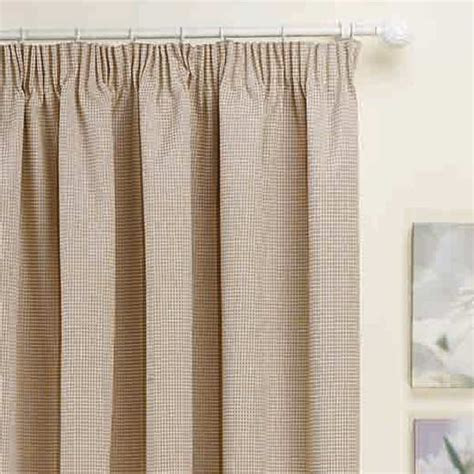 thermal panel curtains kent thermal pencil pleat lined door curtain panel 66 x