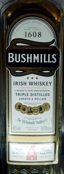 carbohydrates whiskey calories in bushmills whiskey nutrition facts