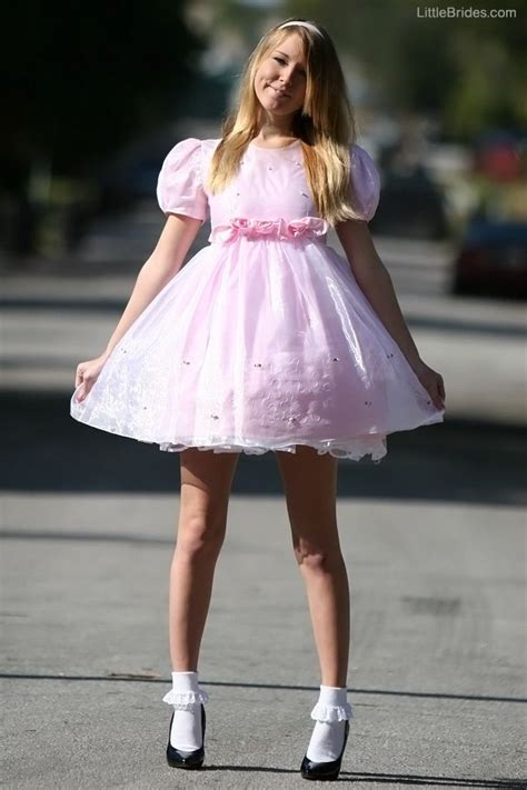 dainty little sissy boys in dresses so pretty girly i would love to see you in this dainty