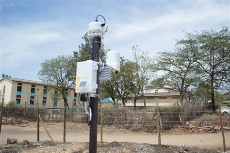 weather stations installed in kenya tahmo