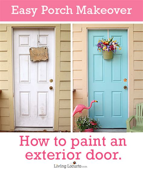 How To Paint Exterior Door how to paint an exterior door tree house porch makeover