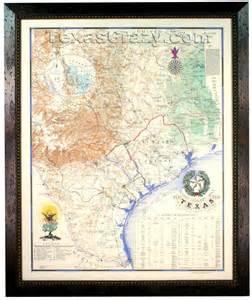 revolution map 1836 buy revolution map 1836 framed republic of