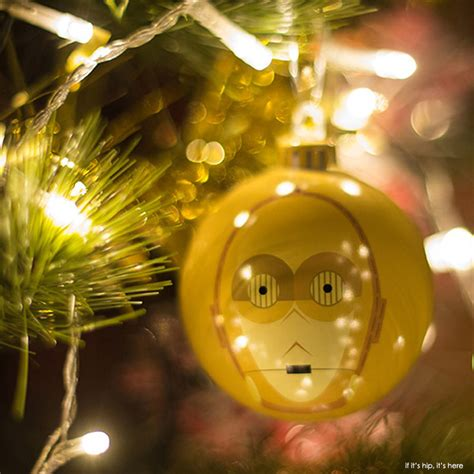 star wars christmas ornaments with design appeal