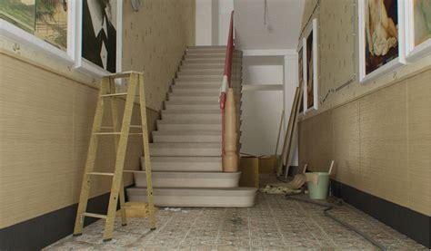 treppenhaus renovieren treppenhaus gestalten altbau labandcraft