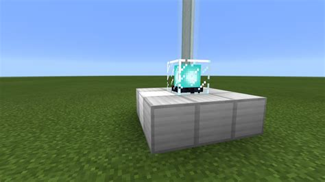 How To Make A Beacon Light Up by How To Make A Beacon Light Up In Minecraft 0 16 2