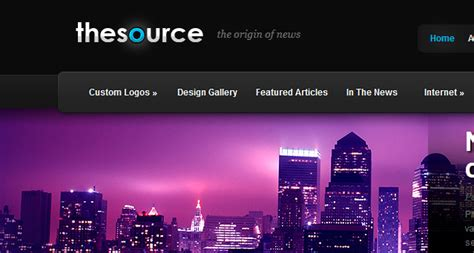 themes and photo thesource wordpress theme