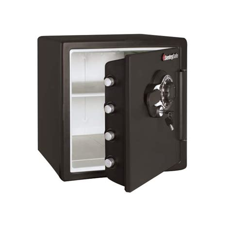 Small Home Combination Safe Sentrysafe Sfw123dsb 1 23 Cubic