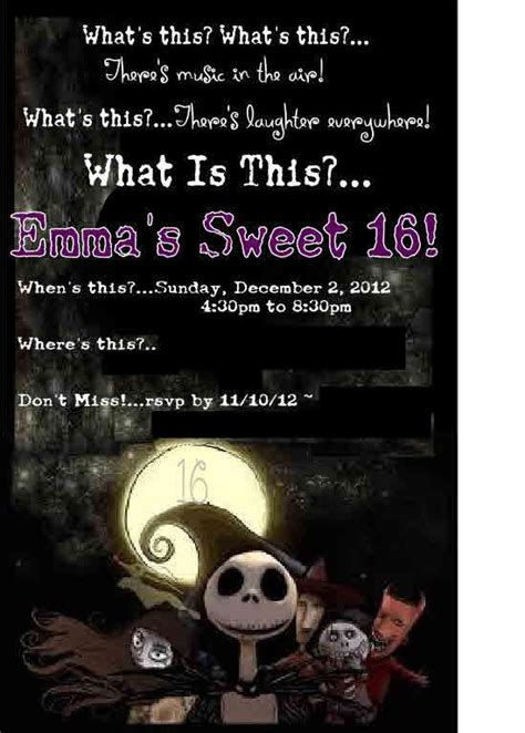 nightmare before christmas birthday party ideas photo 18