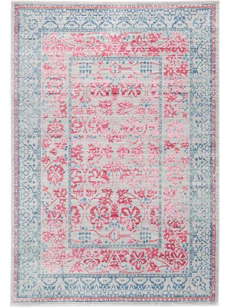 teppiche pink teppich grau pink 187 preissuchmaschine de