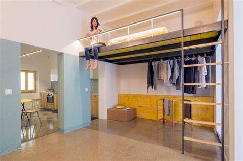 high ceiling apartment loft bed is a option for rooms with high ceilings