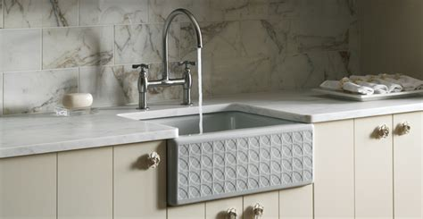 kohler farmhouse cleaning fireclay kitchen sinks wow blog