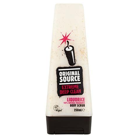 Scrub Original Source original source liquorice scrub 250 ml pack of 6