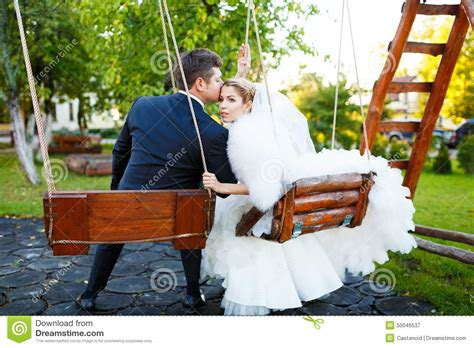 married swing married together stock image image of enjoying