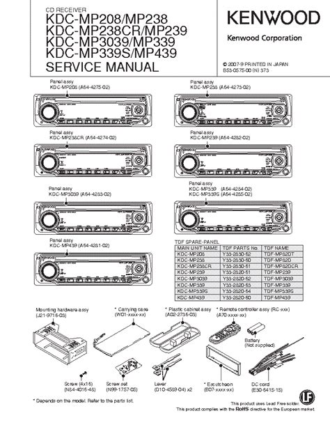 kenwood kdc mp205 wiring diagram wiring diagram schemes