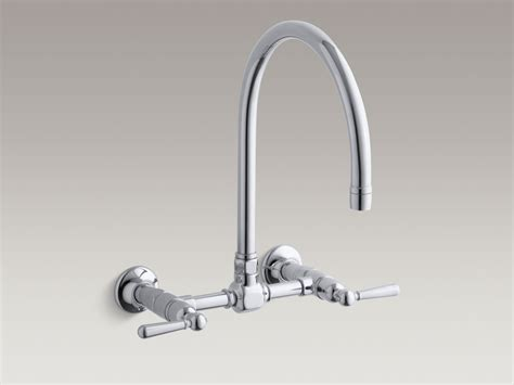 single handle wall mount kitchen faucet wall mount kitchen sink faucet single handle