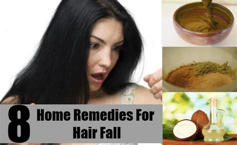 8 home remedies for hair fall treatments cure